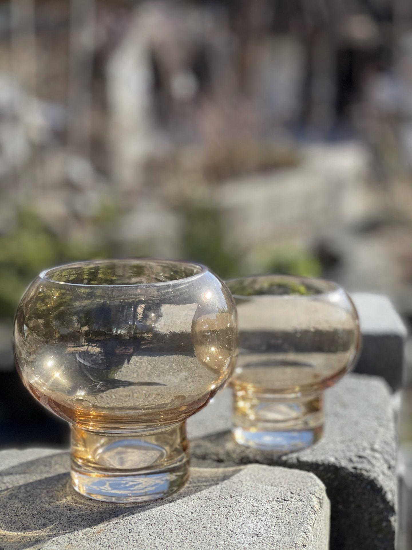 Lysglass, stor